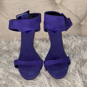 Giuseppe Zanotti Ankle Wrap Metal Heel Sandal